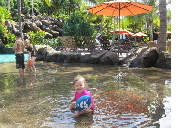 Hip travel mama hip home rental ho olei at grand wailea for Innovative pool design kings mountain