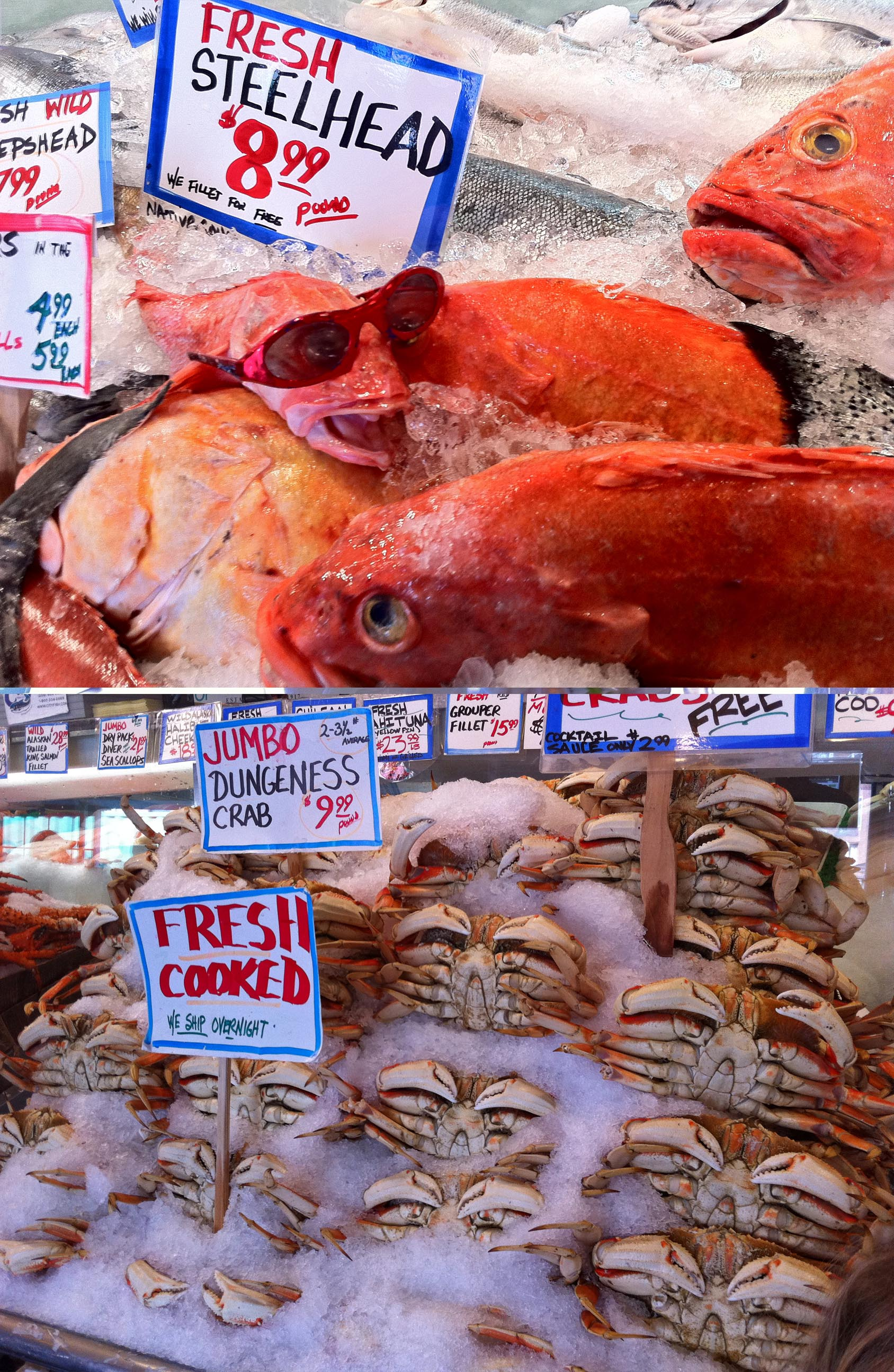 Spring fever 2 hours at pike place market with kids hip for Pike place fish